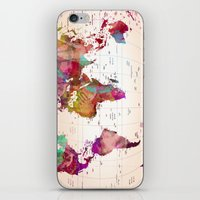 MAP  iPhone & iPod Skin