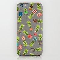 Crazy Pineapple Party iPhone 6 Slim Case