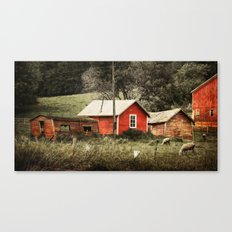 Generations of Red Canvas Print