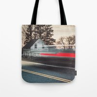 The Blurred Past Tote Bag