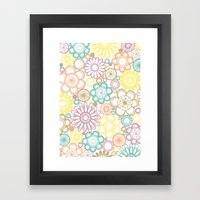 BOLD & BEAUTIFUL serene Framed Art Print