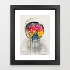 Somewhere in Space, I'm Dreaming Framed Art Print