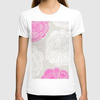 Doodle Doiley Womens Fitted Tee White SMALL