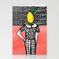 Lemon Head Stationery Cards