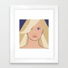 The Pencil Tip Fairy Framed Art Print