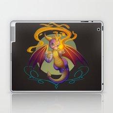 Painting the moon Laptop & iPad Skin