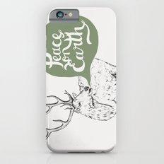Christmas Carol Elk iPhone 6 Slim Case