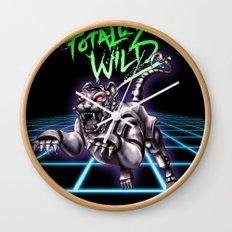 TOTALLY WILD Wall Clock