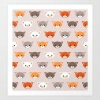Cats, Cats, Cats Art Print
