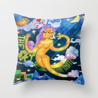 The Sky Is Infinite Throw Pillow