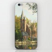 Bruges Castle iPhone & iPod Skin