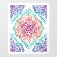 Indian Ink - Rainbow Ver… Art Print
