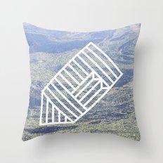 O1 Throw Pillow