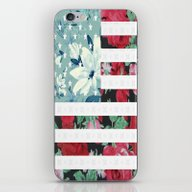 US Flowers iPhone & iPod Skin