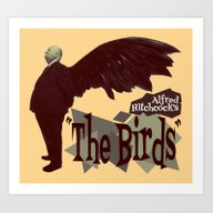 Alfred Hitchcock  |  The… Art Print