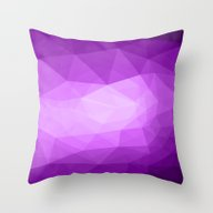 Geometric Polygonal Patt… Throw Pillow
