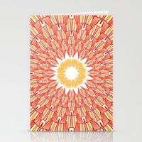 Spring Red Stationery Cards