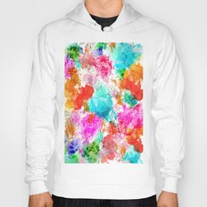 Koi Pond, Water Lilly Hoody