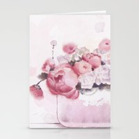 The tender touch Stationery Cards