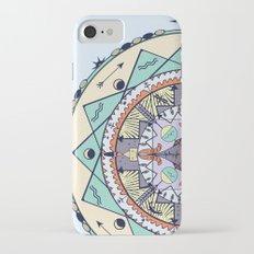Time and Light Native Shapes Mandala iPhone 7 Slim Case
