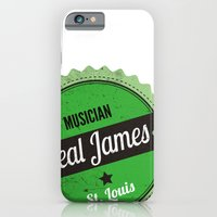 Deal James, Round Sticker Green iPhone 6 Slim Case