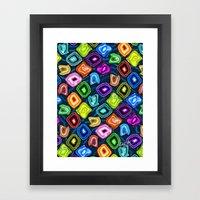 Geode Delight! Framed Art Print