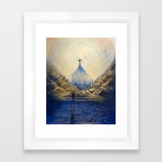 Pathways Framed Art Print