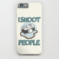 iPhone & iPod Case featuring I Shoot People by Wis Marvin