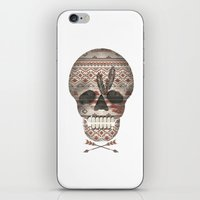 SKULL & ARROW  iPhone & iPod Skin