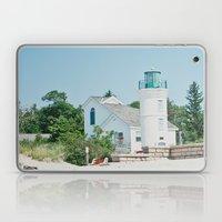 White Lighthouse  Laptop & iPad Skin