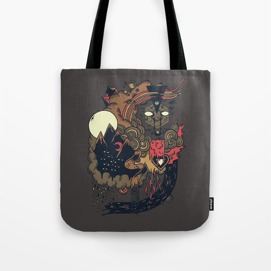 Leader of the Pack Tote Bag