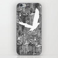 Ecotone (black & White) iPhone & iPod Skin