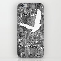 Ecotone (black & White) iPhone & iPod Skin