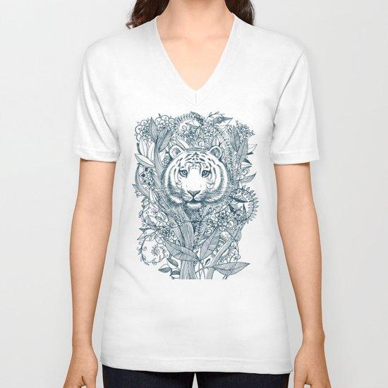 Tiger Tangle V-neck T-shirt