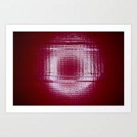 Under the Ring Light Art Print
