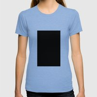 Robert Smith (Black #7) Womens Fitted Tee Tri-Blue SMALL