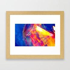 Down On the Up Swing Framed Art Print