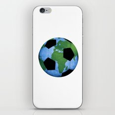 The World Of Soccer iPhone & iPod Skin