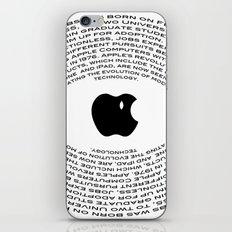 A Tribute To Steve Jobs iPhone & iPod Skin