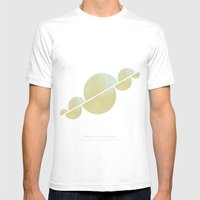 Unicorns Mens Fitted Tee White SMALL