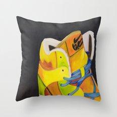 Tropic & Yellow Throw Pillow