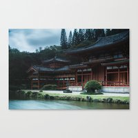 Byodo-In Temple, Hawaii Canvas Print