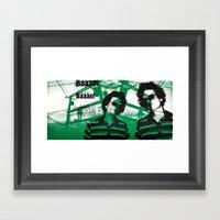 Benny BAAN! Framed Art Print