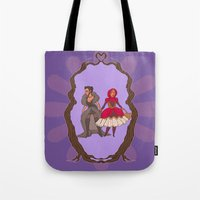Little Red Riding Hijabi Tote Bag