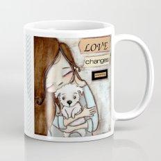 Love Changes Everything by Diane Duda Mug
