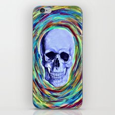 A Skull's Vortex iPhone & iPod Skin