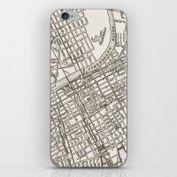 Nashville Map iPhone & iPod Skin