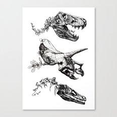 Jurassic Bloom. Canvas Print
