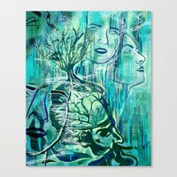 Fertile Mind  Canvas Print