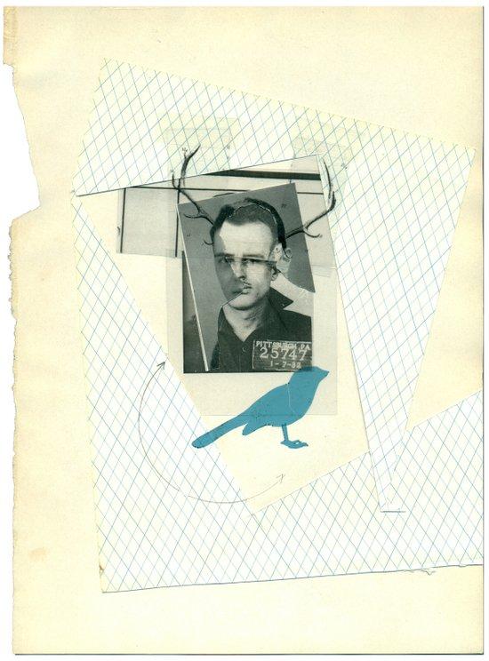 bluebird of... Art Print